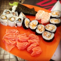 Photo taken at Wasabi I Sushi by Celso R. on 4/14/2013