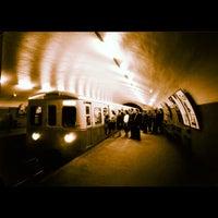 Photo taken at Metro Avenida [AZ] by Luís P. on 11/7/2012