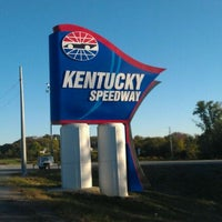 Photo taken at Kentucky Speedway by Mike G. on 9/23/2012