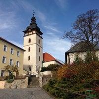 Photo taken at Jistebnice by Milos S. on 10/21/2013
