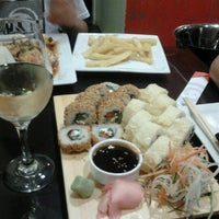 Photo taken at Aomori Nikkei & Sushi by Paula A. on 11/14/2012