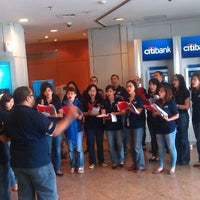 Photo taken at Citibank by Helvi S. on 12/13/2012