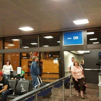 Photo taken at Gate D8 by Bruce W. on 6/17/2016