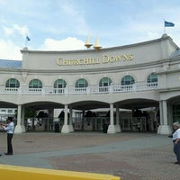 Photo taken at Churchill Downs by Maricel G. on 5/1/2013