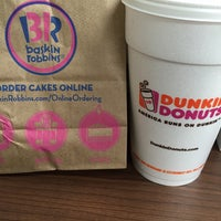 Photo taken at Dunkin Donuts by A E. on 4/25/2016