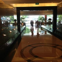 Photo taken at Singapore Marriott Tang Plaza Hotel by Christophe S. on 5/17/2013
