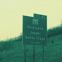 Photo taken at Town of Santa Claus by Justin C. on 12/10/2015