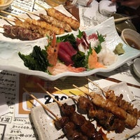 Photo taken at 鍛冶屋文蔵 御徒町店 by 昼寝 on 10/20/2015