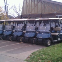 Photo taken at Prairie Highlands Golf Course by Brian O. on 10/24/2012