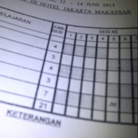 Photo taken at Hotel Jakarta by chici fabiola d. on 6/12/2013