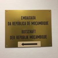 Photo taken at Botschaft der Republik Mosambik by keith b. on 3/17/2017