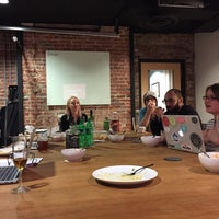 Photo taken at Canvas Co-Working by Nick on 3/4/2015