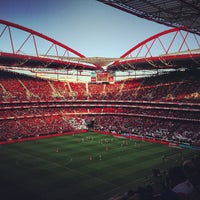 Photo taken at Estádio do Sport Lisboa e Benfica by André L. on 5/19/2013