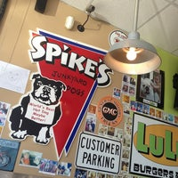 Photo taken at Spike's Junkyard Dogs by Brandi M. on 4/21/2013