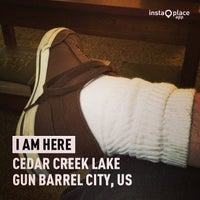Photo taken at Cedar Creek Lake Plumbing by Darren E. on 8/4/2013