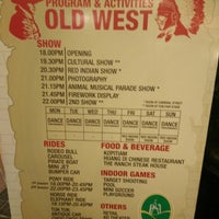 Photo taken at Wild Wild West (cowboy Show) by Syakinah F. on 1/19/2015