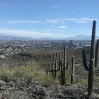 Photo taken at Tumamoc Hill by Pete R. on 1/1/2013