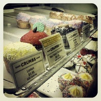 Photo taken at Crumbs Bake Shop by Trevor L. on 9/24/2012