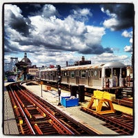 Photo taken at MTA Subway - Marcy Ave (J/M/Z) by Trevor L. on 3/26/2013