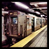 Photo taken at MTA Subway - 42nd St/Grand Central (4/5/6/7/S) by Trevor L. on 5/12/2013