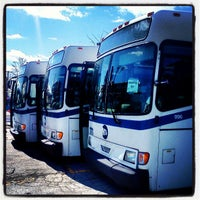 Photo taken at MTA Bus Operations Depot - Eastchester by Trevor L. on 4/2/2013