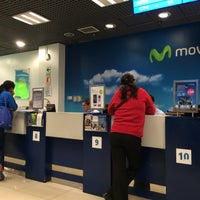 Photo taken at Movistar by Miguel Angel A. on 6/8/2016