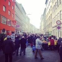 Photo taken at Viktor-Adler-Markt by Michael S. on 3/8/2014