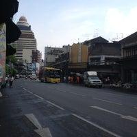 Photo taken at ถ.จักรวรรดิ์ by Off'za B. on 11/23/2012