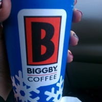 Photo taken at BIGGBY COFFEE by Rebecca B. on 12/29/2012