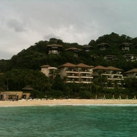 Photo taken at Shangri-La Boracay Resort and Spa by - my - on 1/30/2013