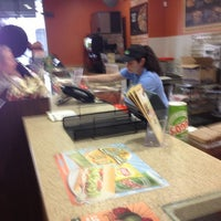 Photo taken at TOGO'S Sandwiches by Pasadena R. on 4/25/2013