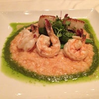 Photo taken at Noir Food & Wine by Pasadena R. on 1/10/2013