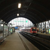 Photo taken at Bahnhof Hamburg Dammtor by Jens A. on 12/25/2012