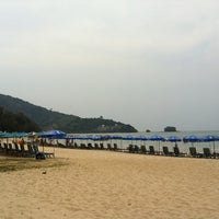 Photo taken at Nai Yang Beach by Edward J. on 2/22/2013