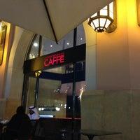 Photo taken at Emporio Armani Café- The Pearl Qatar by Matias L. on 4/27/2013
