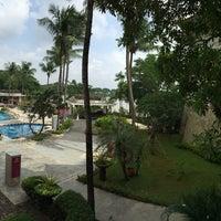 Photo taken at Sheraton Bandara Hotel by Anung W. on 2/2/2015