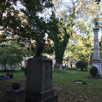 Photo taken at New York City Marble Cemetery by Jeanne on 10/16/2016