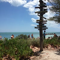 Photo taken at Fort Zachary Taylor State Park Beach by Jeanne on 5/26/2013