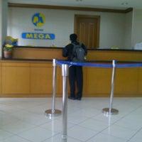 Photo taken at Bank Mega - BSD by Asih K. on 10/15/2012