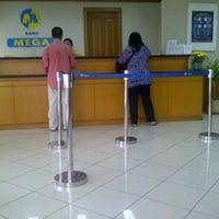 Photo taken at Bank Mega - BSD by Asih K. on 9/17/2012