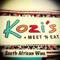 Photo taken at Kozi's - Meet 'n Eat by Thalia S. on 12/31/2012