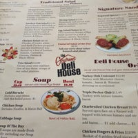 Photo taken at Gourmet Deli House by Rachel on 4/27/2013