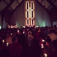 Photo taken at First United Methodist Church by Chucky B. on 12/24/2012