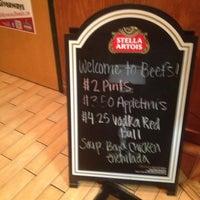 Photo taken at Beef O' Bradys by Dré P. on 10/12/2012