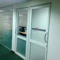 Photo taken at UAE EXCHANGE CENTRE LLC by Dilum K. on 7/9/2013