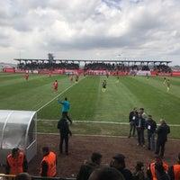 Photo taken at Ümraniye İlçe Stadı by Mehmet Y. on 4/9/2017