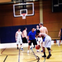 Photo taken at Bellevue Club Basketball Courts by Jason A. on 3/16/2013