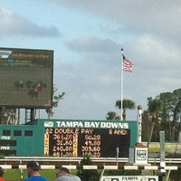 Photo taken at Tampa Bay Downs by Mary N. on 12/26/2012