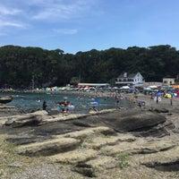Photo taken at 荒井浜海水浴場 by と む. on 7/24/2016