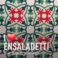 Photo taken at Ensaladetti by Francisco V. on 8/25/2015